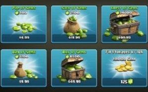 Jual Gems Clash Of Clans Android tanpa Kirim Password