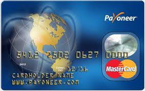 cara aktifasi kartu debit payoneer