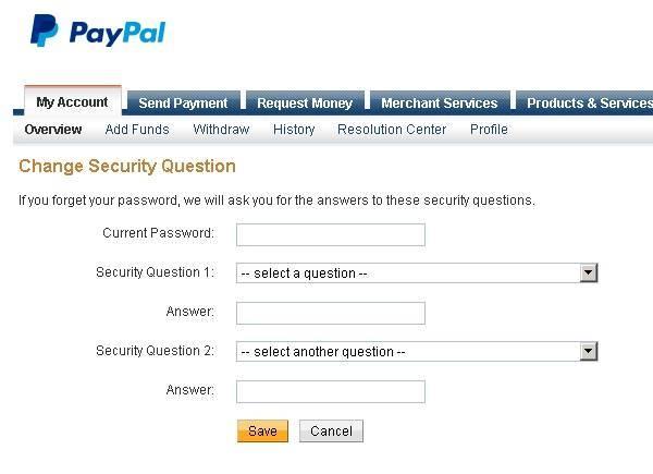 pertanyaan keamanan