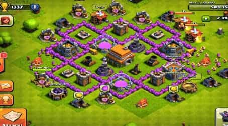 Strategi Bertahan Clash Of Clans Th 3 4 5 6 7 8 9