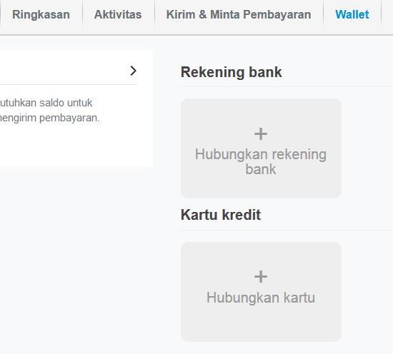 wallet tambah kartu