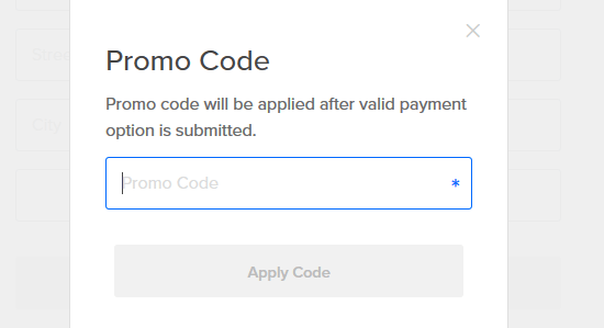 apply code