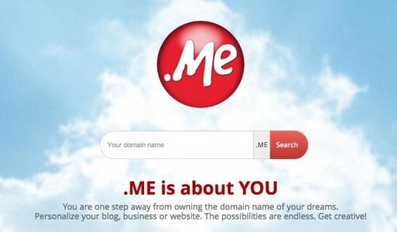 Domain .Me gratis
