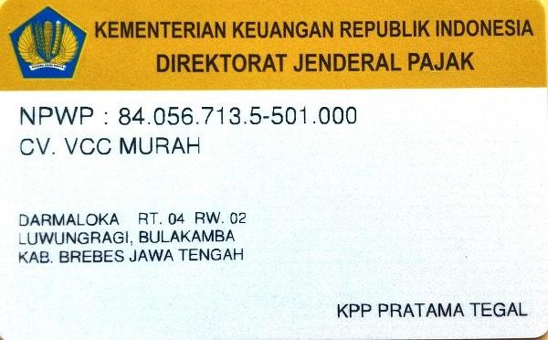 CV. VCC MURAH